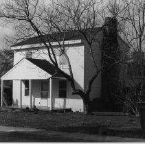 Image of McGuffin House - McGuffin House, 400  Crutchfield Street, Dobson, probably built during mid-nineteenth century.  For more information, see SIMPLE TREASURES page 76 and state record 486.