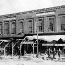 Image of Welch General Store - G. C. Welch General Store. South Main Street, Mount Airy.  See also Simple Treasures, page 171, for additional information.