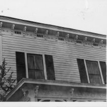 Image of Galloway House - A. B. Galloway house located in Elkin, North Carolina and built in 1850s.  The present owner is Mrs. Caroline Parker.  See SIMPLE TREASURES pages 37, 104.