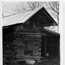 Image of Corn Crib - Corn crib, Eng Bunker homeplace, SR 1360, White Plains vicinity.  For more information see SIMPLE TREASURES page 135.