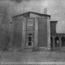 Image of Old Rockford Courthouse - Old Rockford Courthouse, after 1925 fire.