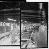 Image of Granite Quarry - Granite Quarry, Mount Airy.  (two pictures taped together)