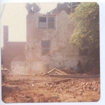 Image of Old Jail, Dobson - demolition