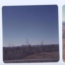 """Image of The Hollows - """"The Hollows"""", which was Mount Airy's first name given to the area.  Three views from I-77."""