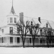 Image of Kenlin Hotel - Kenlin Hotel, Dobson.  Building is no longer standing.