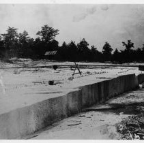 Image of Mount Airy Granite Quarry - Mount Airy Granite Quarry, early 1900s.