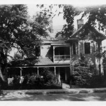 Image of Caleb Haynes' House - Caleb Haynes' house, Rockford Street, Mount Airy.  First part was built in 1894, second story put on in 1900s.