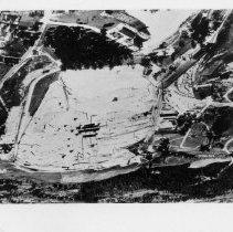 Image of Mount Airy Granite Quarry - Mount Airy Granite Quarry, aerial view.