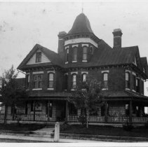 Image of J. A. Hadley House - J. A. Hadley House, Pine Street, Mount Airy.