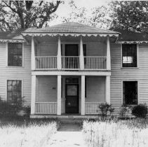 Image of Colonel Harrison Waugh House - Colonel Harrison Waugh House in Dobson, one of the homes which flanked the old courthouse.