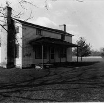 Image of Copeland Harbour House - Copeland Harbour House located in the Eldora Township of Surry County.  It was probably built during the first quarter of the nineteenth century.  See SIMPLE TREASURES, pages 14 and 82.