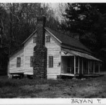 Image of Mountain Cabin - House, one-and-half-story venacular structure, SR 525, Bryan Township.