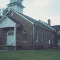 Image of West Elkin Baptist Church - Elkin.  West Elkin Baptist Church, built during the 1950s.