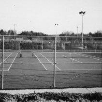 Image of Tennis Courts - Elkin.  Tennis courts at Elkin Municipal Park.