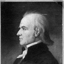 """Image of General William Lenoir - Elkin.  General William Lenoir.  Note on back of picture reads: """"Father of Rufus, Sr., Aunt Sallie Gwyn's husband."""""""