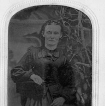 Image of Martha Hollingsworth - Martha Hollingsworth, born March 25, 1835.  This picture was taken in July 1872 when she was  37 years, 3 months,  20 days old.