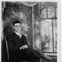 Image of Claude Tucker - This is a photo of Claude Tucker, son of Charlie and Ollie Grogan Tucker. Born February 10, 1903.  Claude died April 1955.