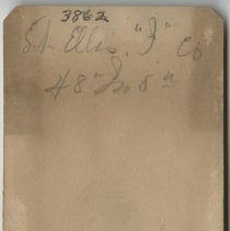 Image of William R. Ellis. back of image