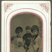 Image of Hattie Booth,Bertha Judkins, Cora Ney and Carrie Towle
