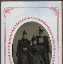 Image of Nancy Jernegan, Mrs. Hasford, and Susie Beiger