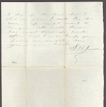 Image of Letter to William H. Judkins Dec 6,1861 p.2