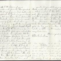 Image of Letter to William H. Judkins Feb 7 1862