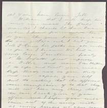 Image of Letter to William H. Judkins Feb 15,1862