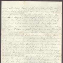Image of Letter from William Judkins Feb 16 1862 p2