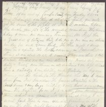 Image of Letter from William Judkins Feb 16 1862 p3