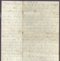 Image of Letter from William Judkins Feb 16,1862 p4