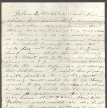 Image of Letter to William H. Judkins  July 22,1862 p3
