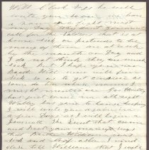 Image of Letter to William H. Judkins July 22 1862 p4