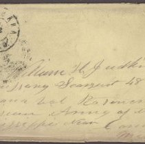 Image of Envelope July 22 1862