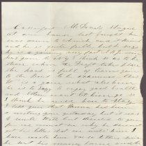 Image of Letter to William H. Judkins Sept 1 1862 p2