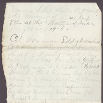 Image of Letter to William H. Judkins Oct 9 1862 p3