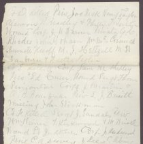 Image of Letter to William H. Judkins Oct 9 1862 p4