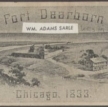 Image of reverse side of  Chicago Day Ticket