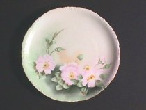 Image of Winzler, Mrs. E. - Plate with Floral Motif