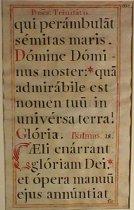 Image of Unknown Artist - Illuminated Manuscript