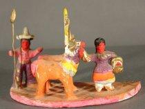Image of figurine, group,