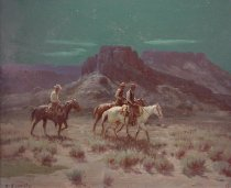 Image of Wieghorst, Olaf - The Night Riders