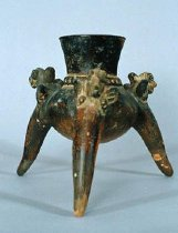 Image of Atlantic Watershed Culture - TRIPOD DRINKING VESSEL