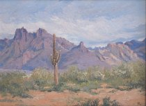 Image of Yerkes, Mary Agnes - Ajo Mountains En Route (Organ Pipe Cactus National Monument), 1968