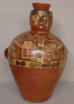 Image of Wari Culture - Anthropomorphic Jar