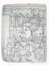 Image of Zalce, Alfredo - Untitled (Children with Pinata)