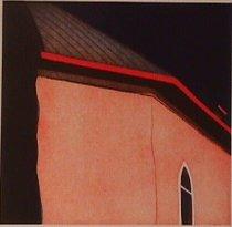 Image of Waldrum, Harold Joe - Las sombras atrás de la iglesia de San Antonio en Arroyo Hondo