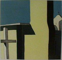 Image of Waldrum, Harold Joe - Las sombras de la iglesia de Nuestra Señora de Dolores en Cañon