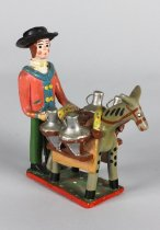 Image of Alfaginha, Olaria - Figurine of a Man and Horse