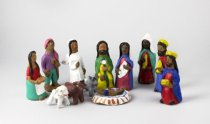 Image of Aguilar Family - Nacimiento Figurines