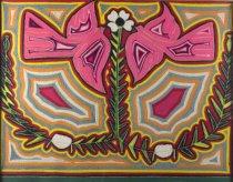 Image of Zalzedo, Ramona - Yarn Painting with Two Pink Doves
